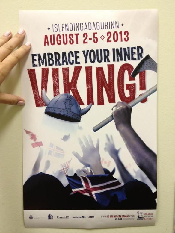 Islendingadagurinn Poster