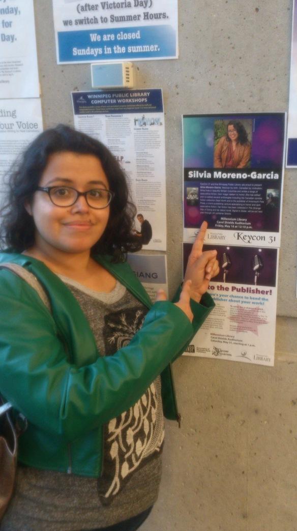 Silvia at Millenium
