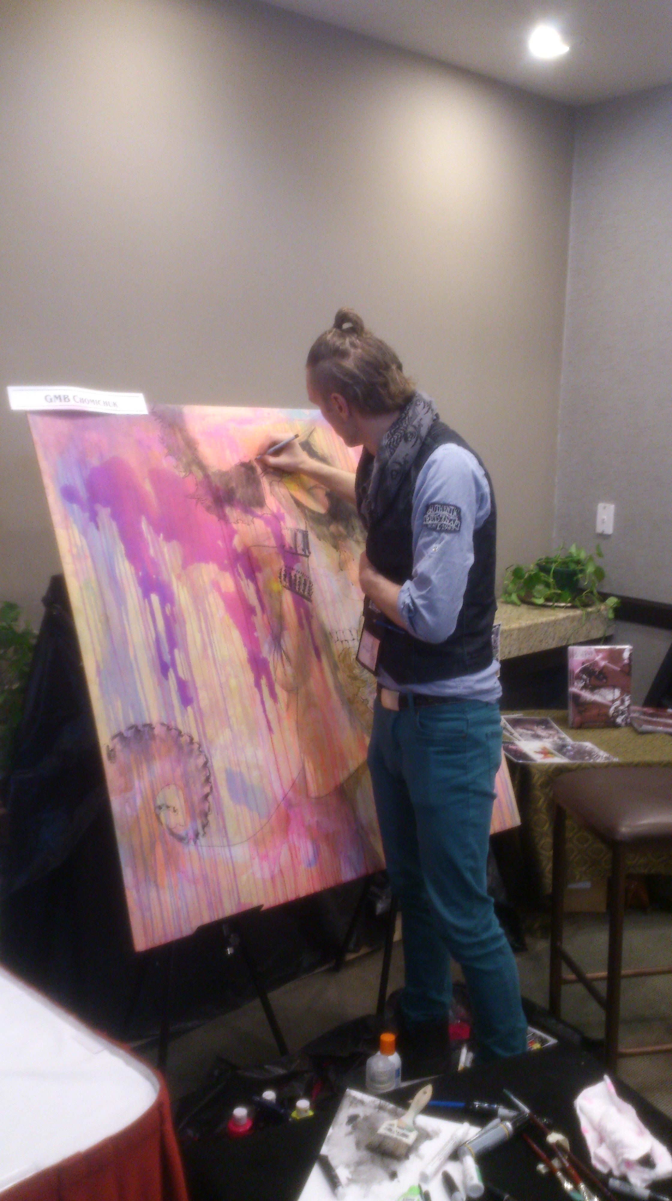 GMB Live Art Keycon 2014