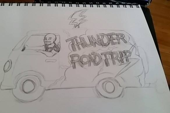 Thunder Road Trip by Samantha Beiko