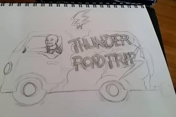 Thunder Road Trip by Samantha Beiko