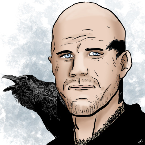 Ted with Ravens