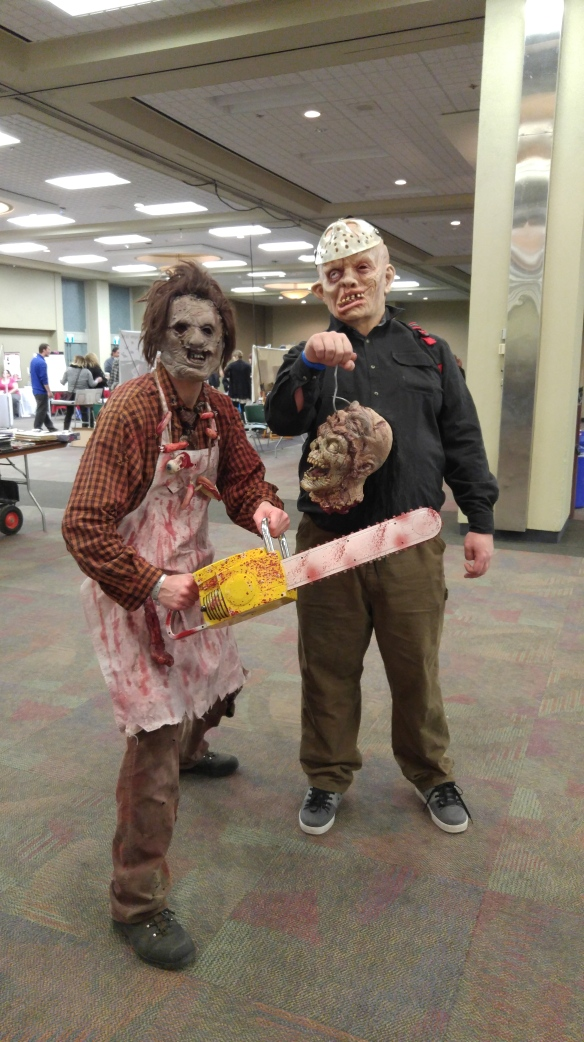 Leatherface & Jason